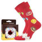 Ponožky LONKA Donut vzor 4a