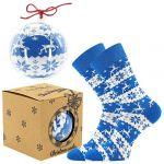 Ponožky LONKA Elfi modrá