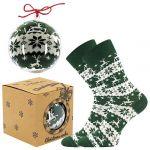 Ponožky LONKA Elfi zelená