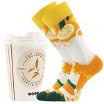 Ponožky LONKA Tea socks - bylinkový čaj