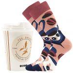 Ponožky LONKA Tea socks - černý čaj