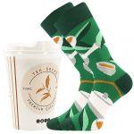 Ponožky LONKA Tea socks - zelený čaj