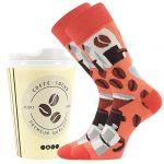 Ponožky LONKA Coffee socks - vzor 5