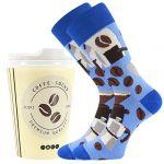 Ponožky LONKA Coffee socks - vzor 6