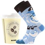 Ponožky LONKA Coffee socks - vzor 7