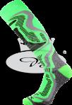Termo podkolenky VoXX Carving zelená