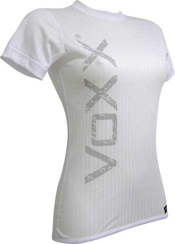 VoXX funkční prádlo Select 02 - dámské tričko krátký rukáv bílá