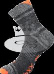 Ponožky VoXX Hawk neon oranžová