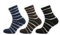 Ponožky NOVIA peříčko tmavě modrá