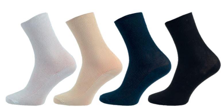 Ponožky NOVIA Medic 100% bavlna béžová
