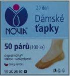 Dámské ťapky NOVIA PAD T02 tělová - 50 párů