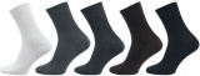 Ponožky NOVIA Medic tmavě šedá